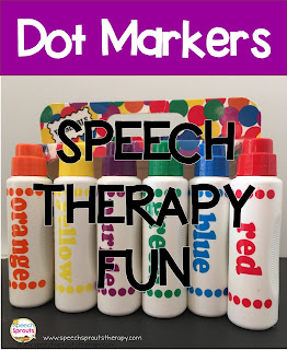 Dot Marker Fun in Speech Therapy