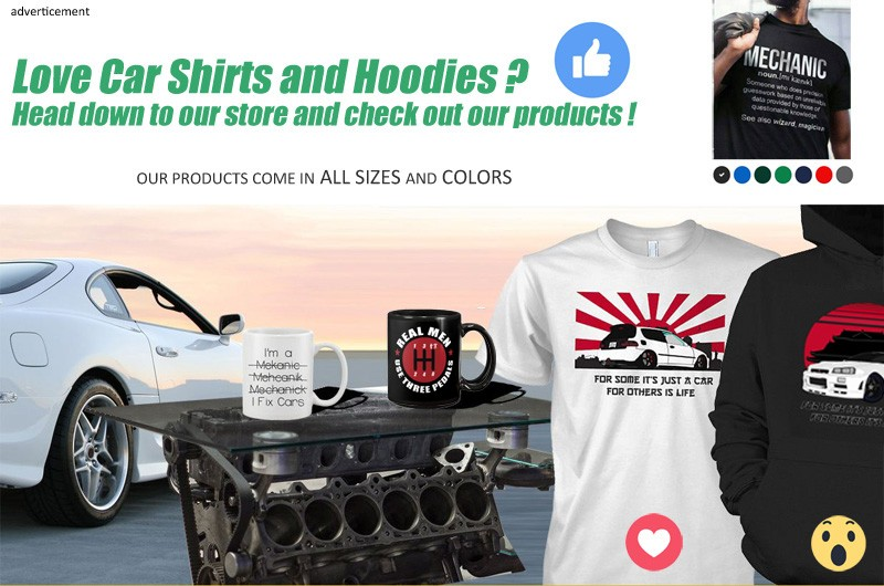 Car Shirts and Hoodies