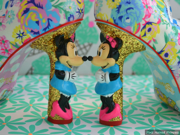 minnie mouse character heels