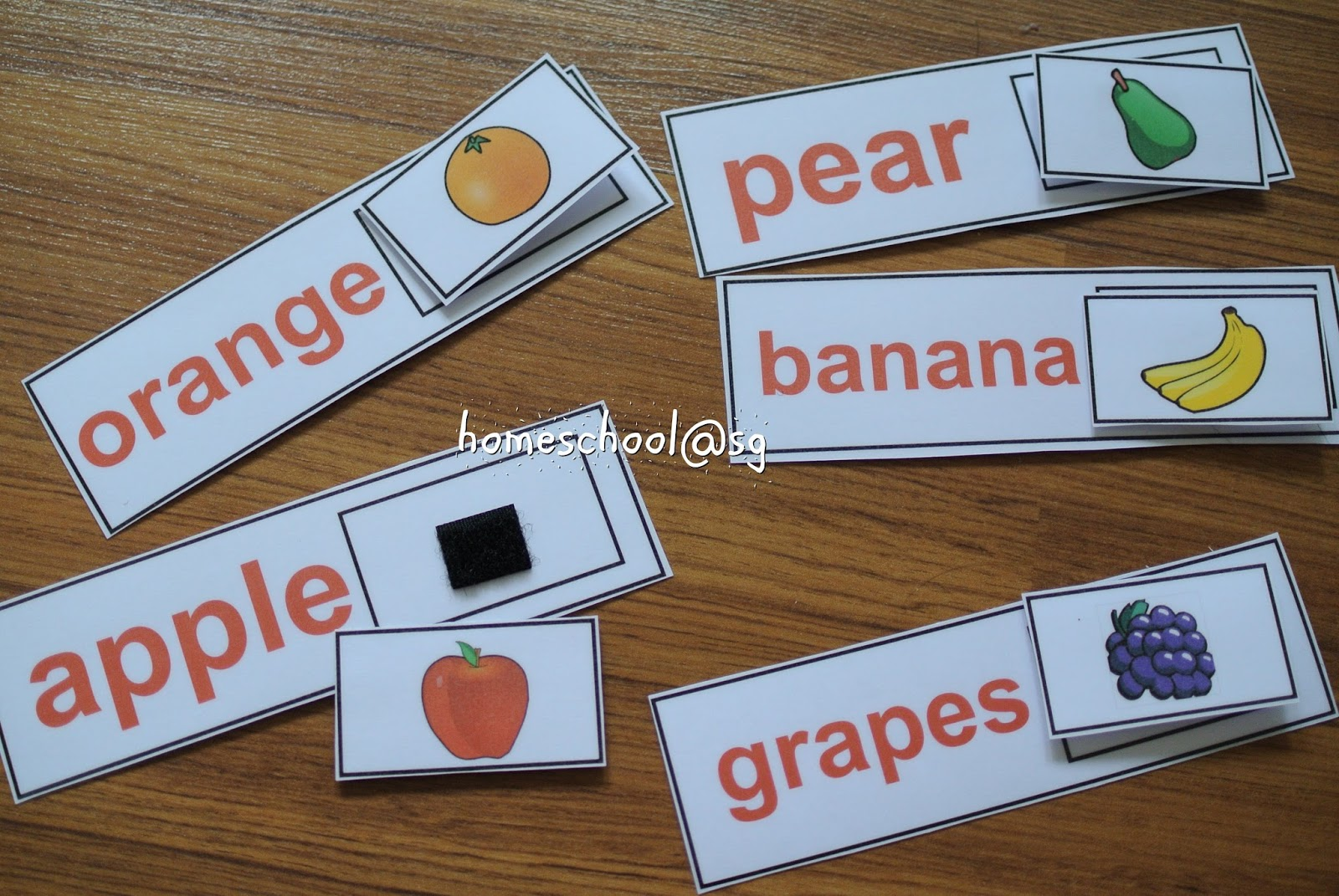 Homeschool Sg Word Recognition Printables