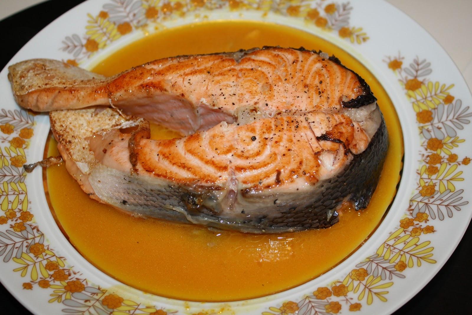 La cuciniera moderna ricette salmone all 39 arancia for Salmone ricette