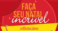 Faça seu Natal incrível Boticário oboticariocomvoce.com.br