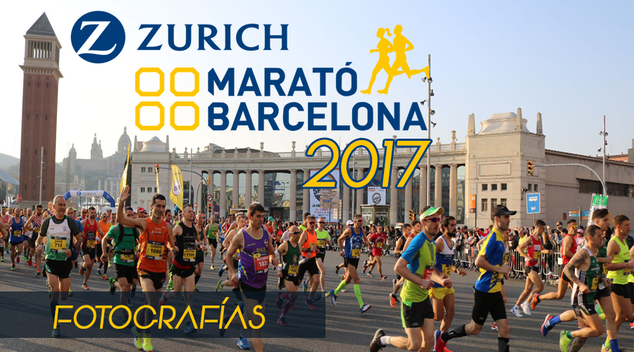 Fotografías Zurich Marató de Barcelona 2017