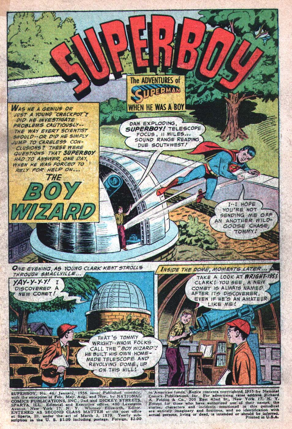 Superboy (1949) issue 46 - Page 2