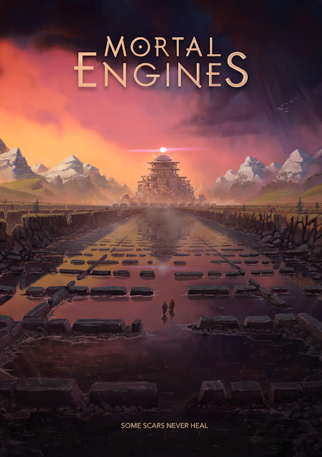 london tracks poster mortal engines