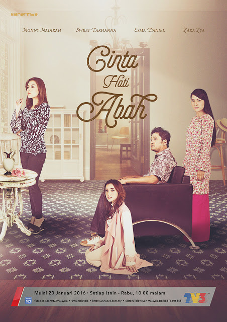 Drama pilihan : Cinta hati abah. (Slot Samarinda TV3).