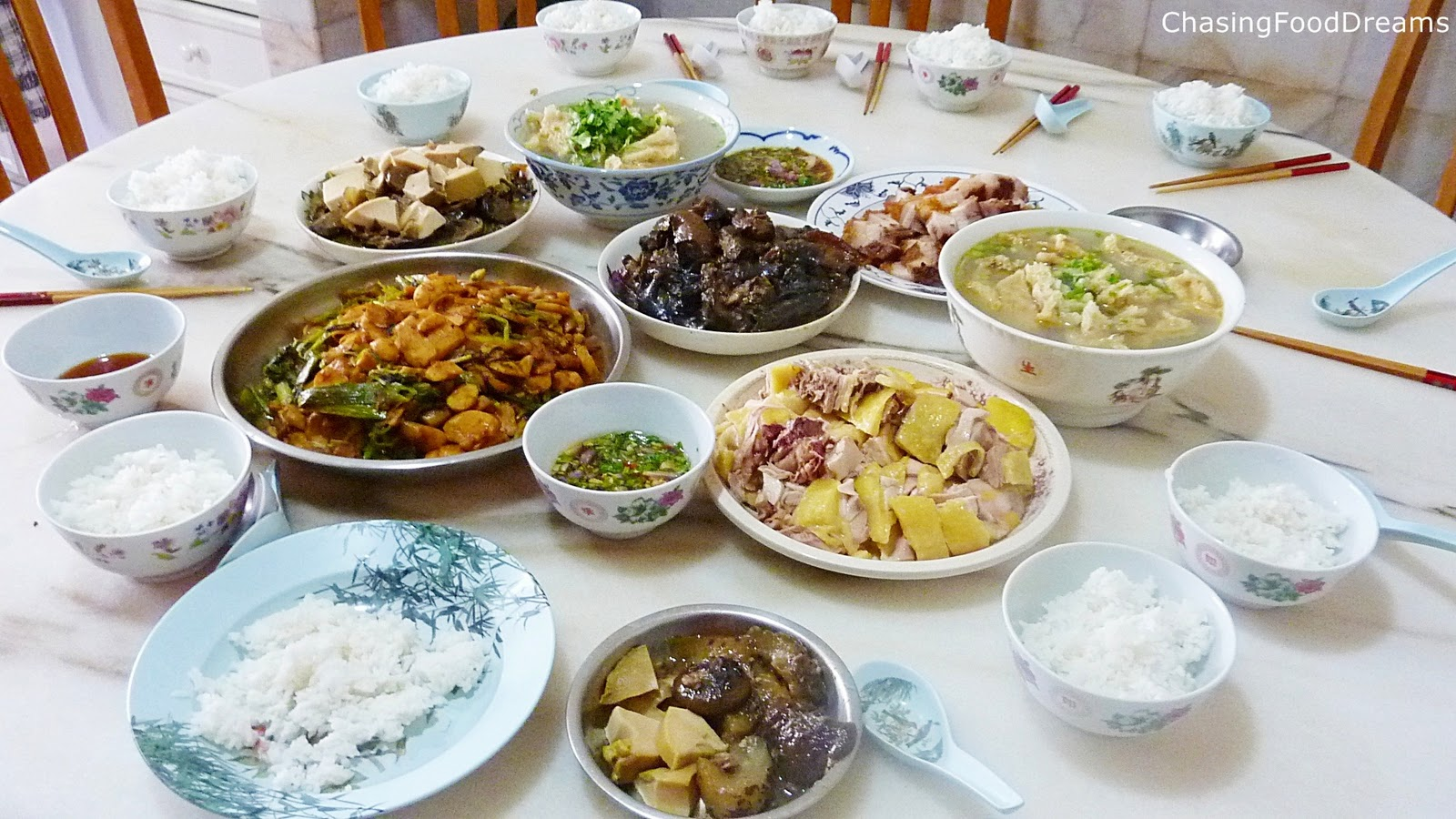 CHASING FOOD DREAMS: Chinese New Year 2011 ~ Day Two