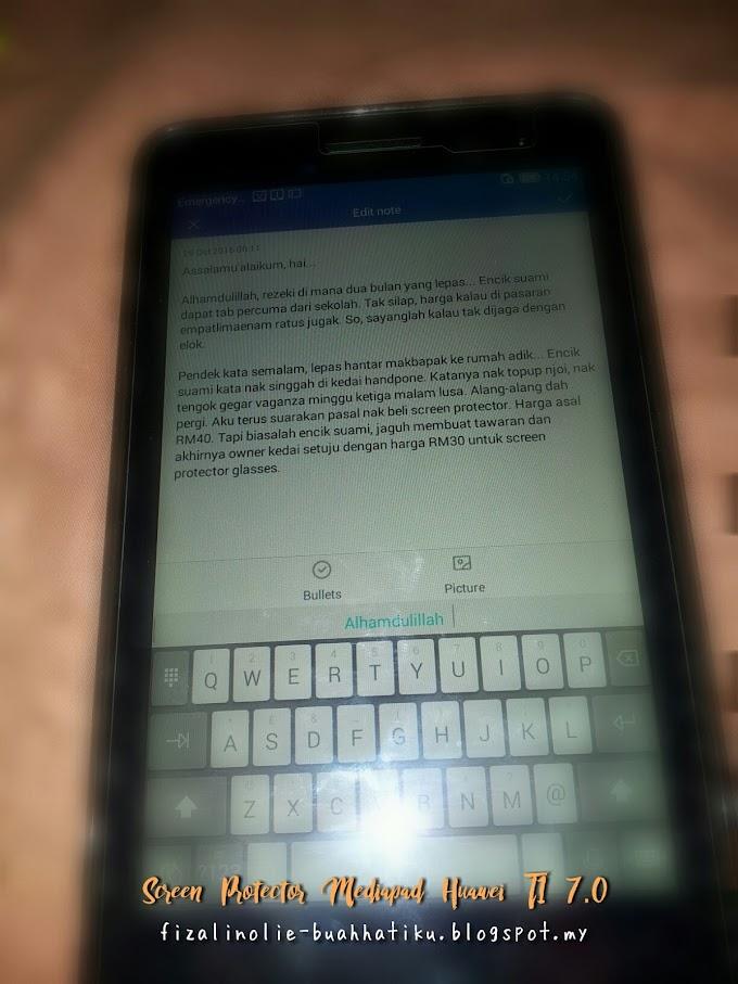Harga Screen Protector Mediapad Huawei T1 7.0