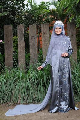 Gaun Pengantin Muslim Rabbani Terbaru