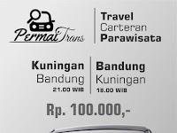 Jadwal Travel Permai Trans Kuningan - Bandung PP