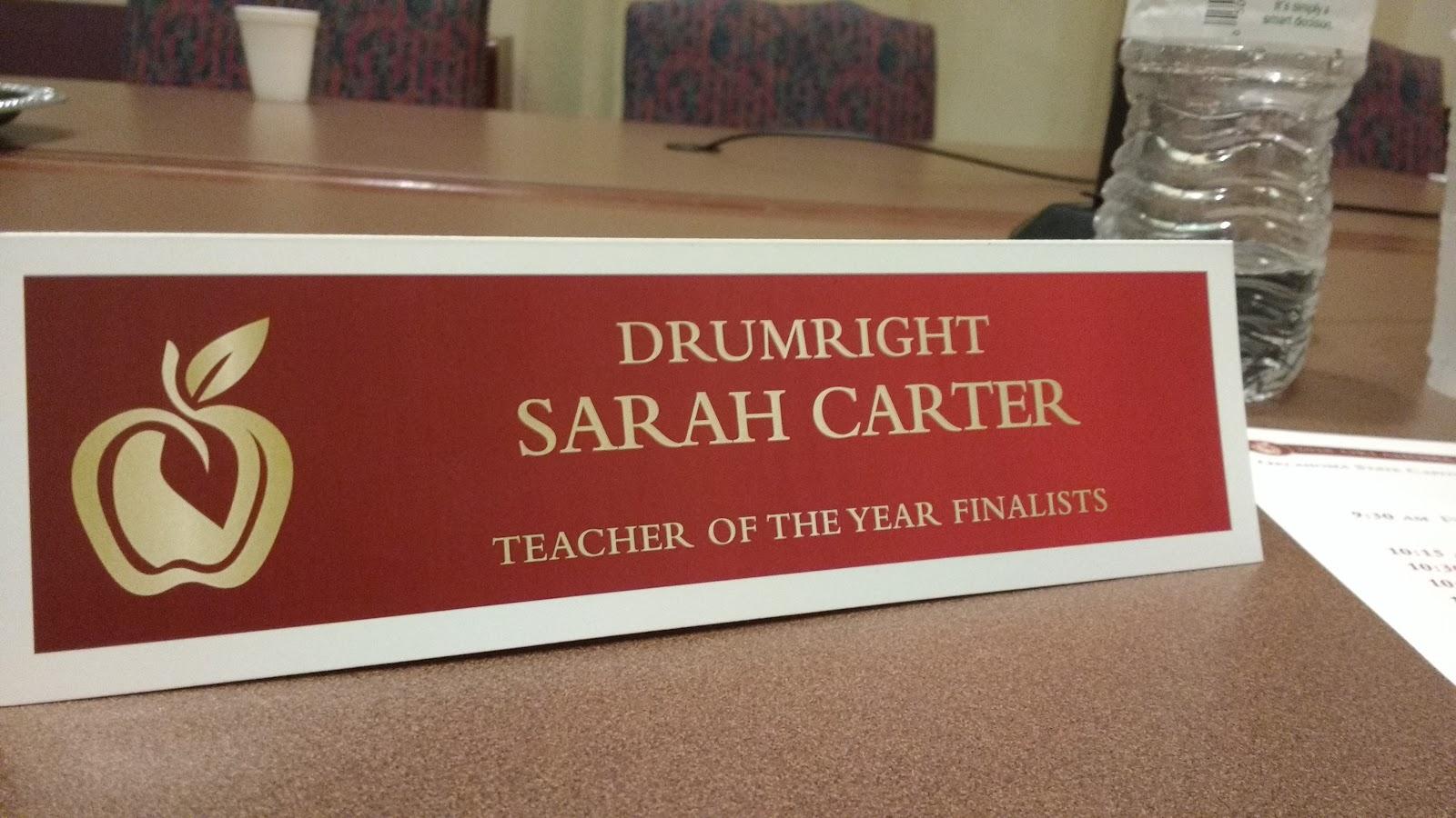 Math = Love: Oklahoma Teacher of the Year Interview Process