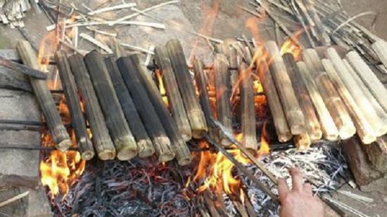 đặc sản cơm lam núi rừng đà lạt