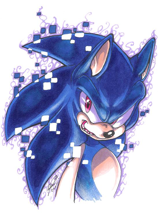 Dark Sonic fan art image
