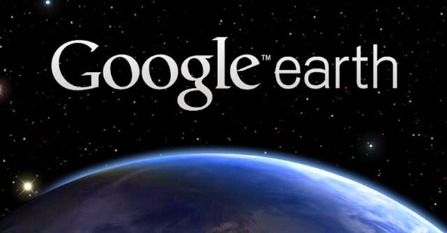 Google Earth esconde um grande segredo na Antártida