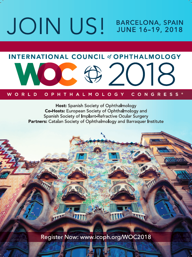 World Ophthalmology Congress 2018