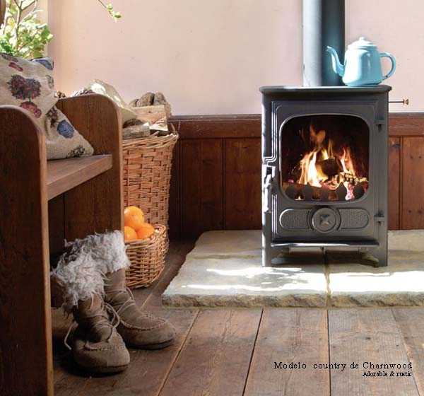 15 Modelos de estufas a lena para estancias reducidas | Decoración