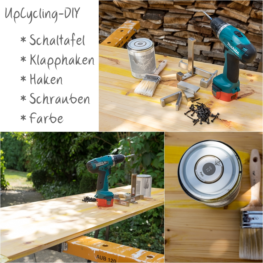 fim.works | Fotografie. Leben. Wohnen. | UpCycling-DIY | Wie du in ein paar Stunden aus gebrauchten Dingen eine Garderobe baust