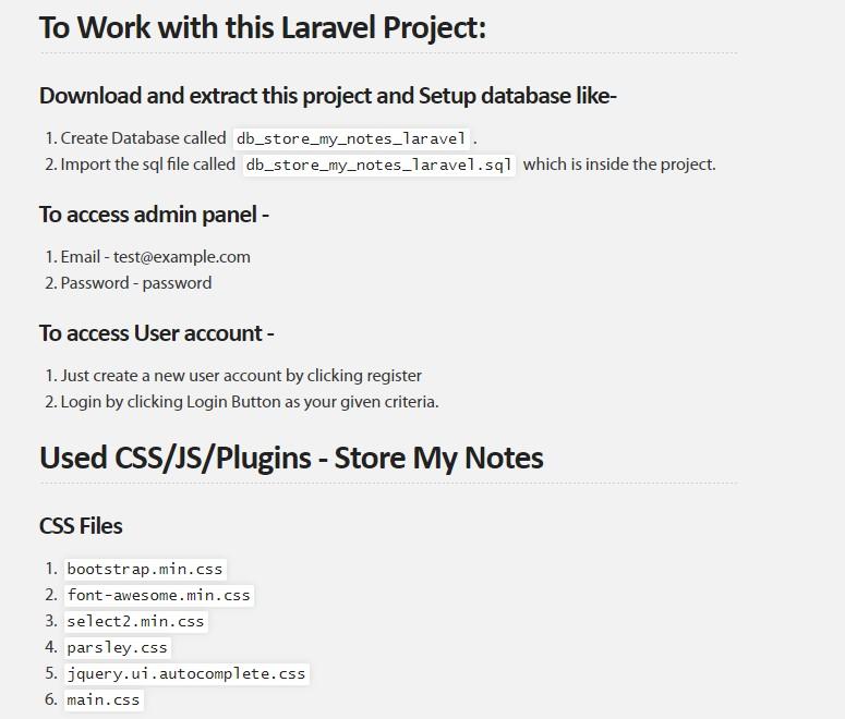 Laravel Admin Panel Github