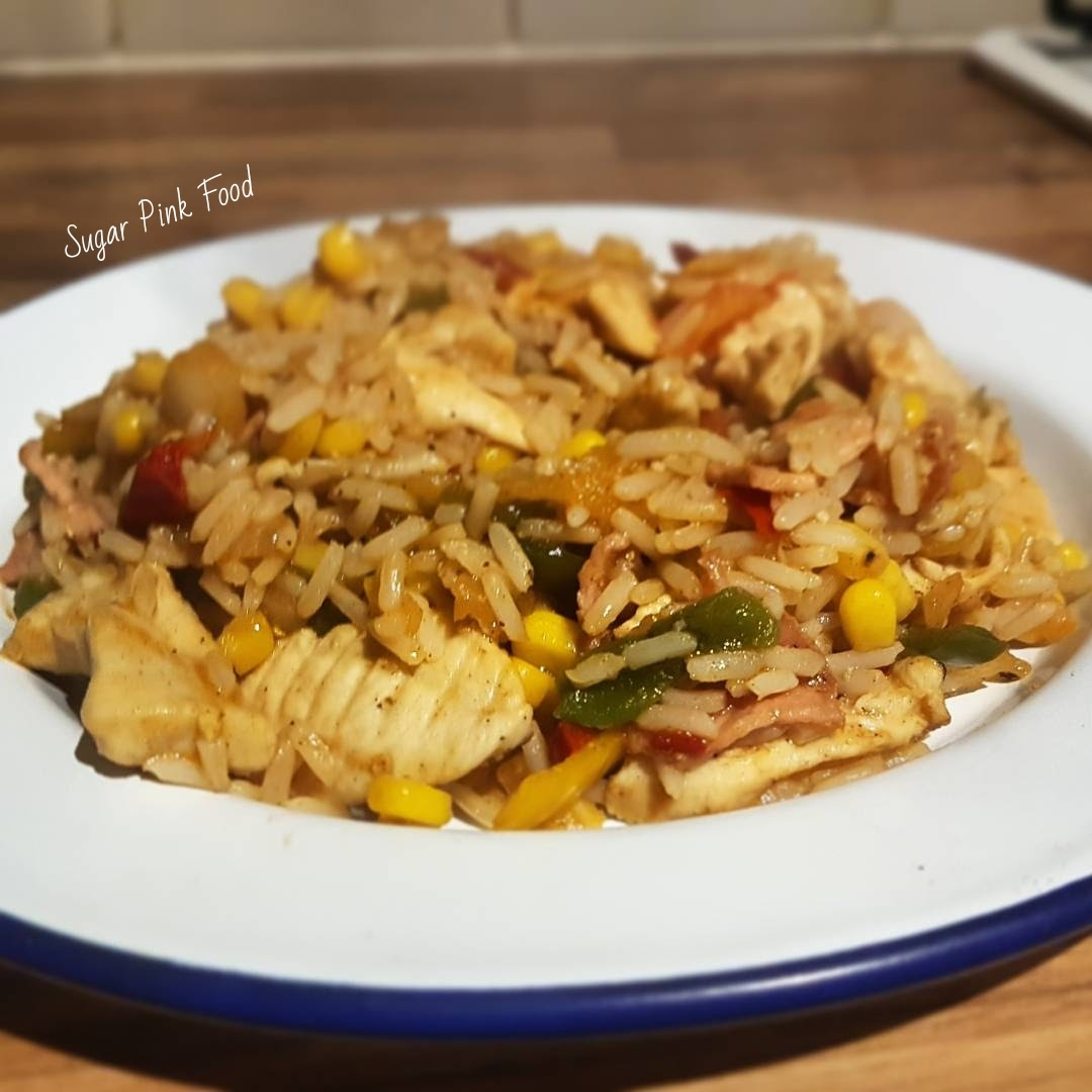 slimming world dirty rice Syn Free Chicken & Bacon Dirty Rice Recipe slimming world
