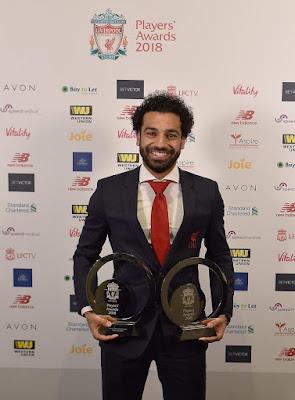 3 جوائز في ليلة تاريخية للفرعون محمد صلاح