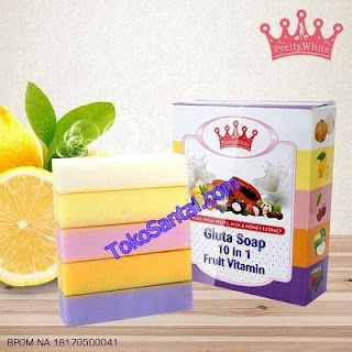 Fruit Vitamin 10 in 1 BPOM By Pretty White
