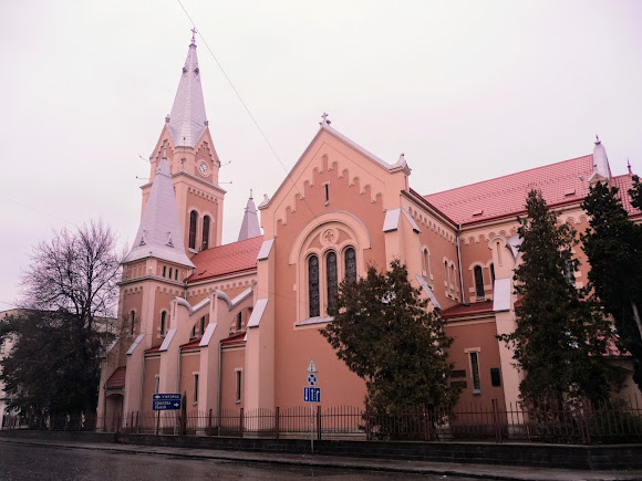 Мукачево. Кафедральний собор св. Мартина из Тура