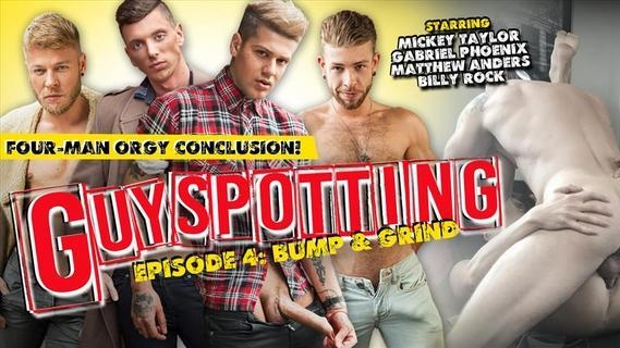 Guyspotting – Matthew Anders, Mickey Taylor, Gabriel Phoenix, Billy Rock