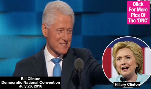 DNC: Bill Clinton — I Married My Best Friend & She's 'The Best Darn Change Maker' I Know