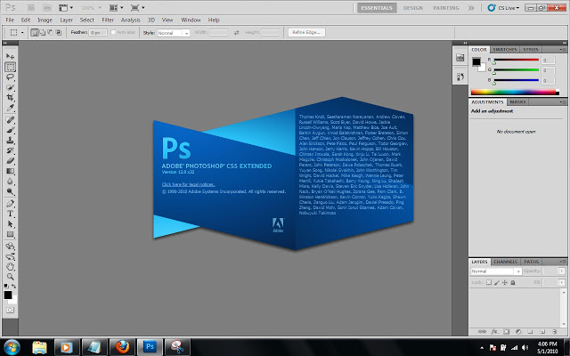 Adobe photoshop cs6 13. 0. 1 version 32/64-bit | image editors.