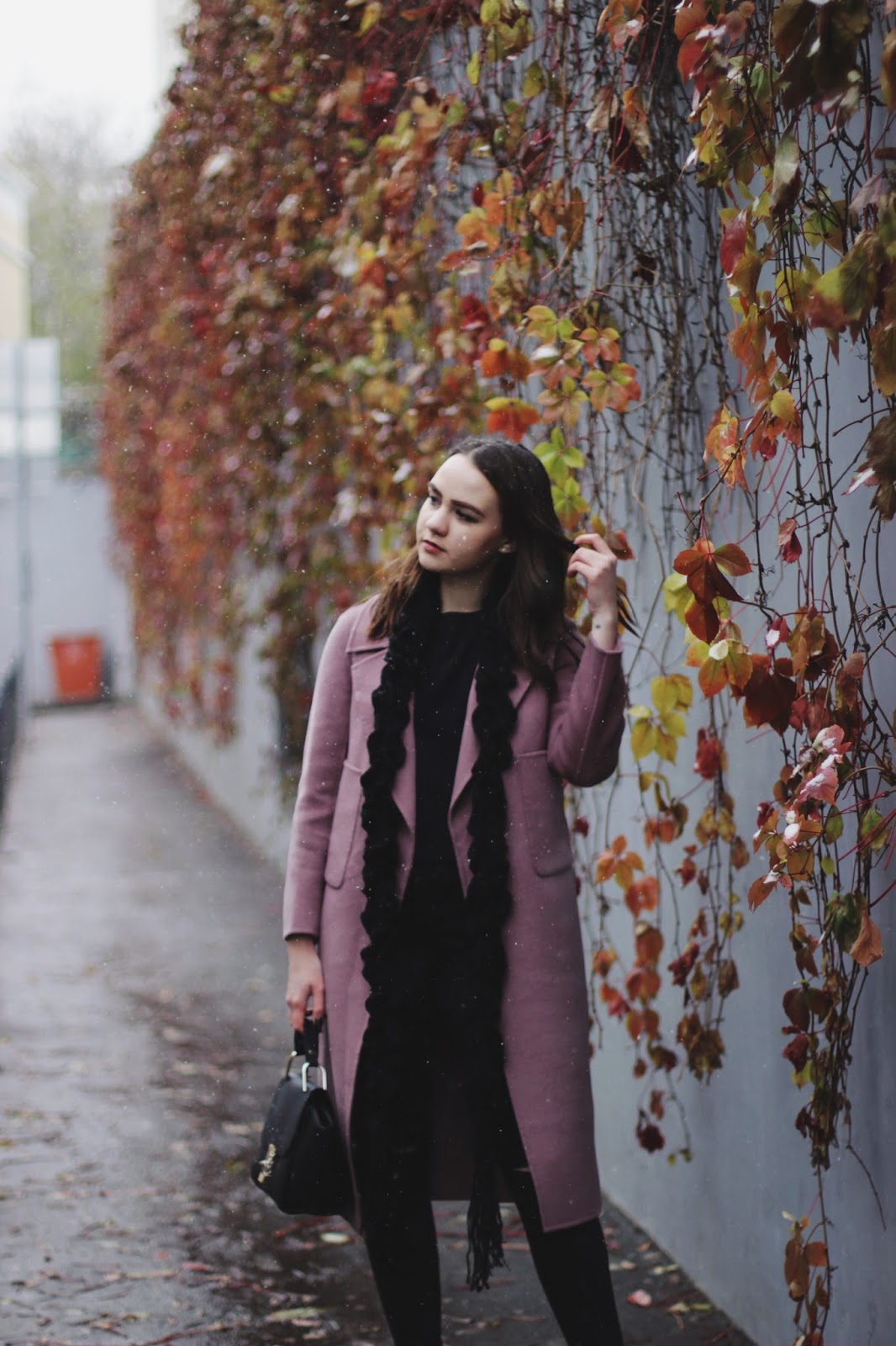 Fashion Blogger | Colorful Coat Styling