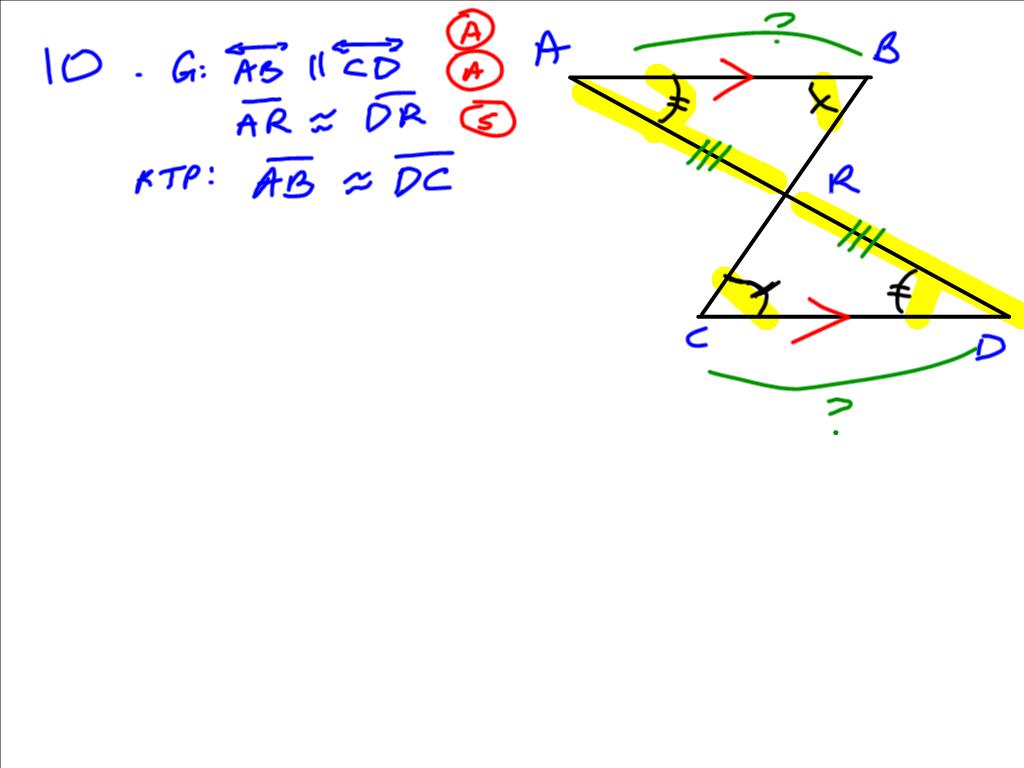 Grade 11 Applied Aardvark Math More Proofs