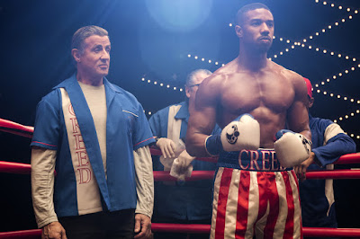 Creed 2 2018 movie still Sylvester Stallone Michael B. Jordan