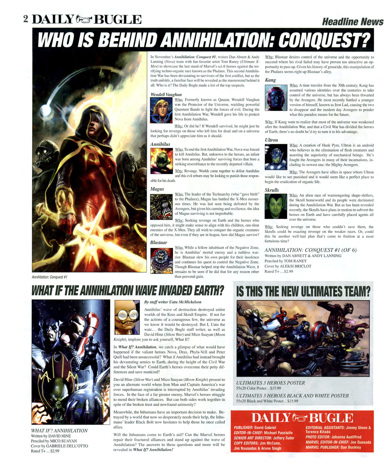Read online Daily Bugle (2006) comic -  Issue #14 - 3