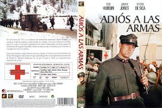 Carátula: Adiós a las armas (1957) A Farewell to Arms