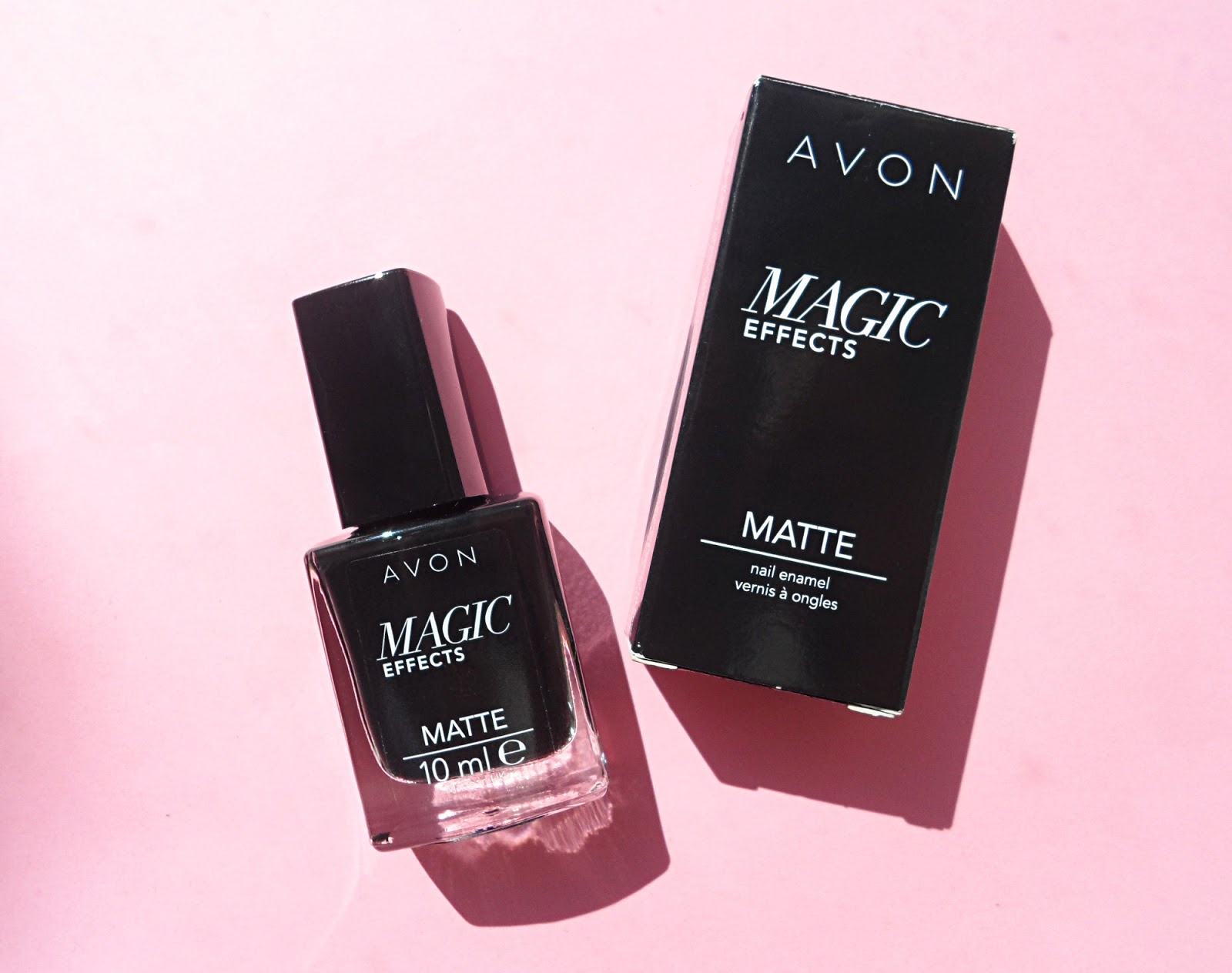 Avon Magic Effects Matte Nail Enamel | Review