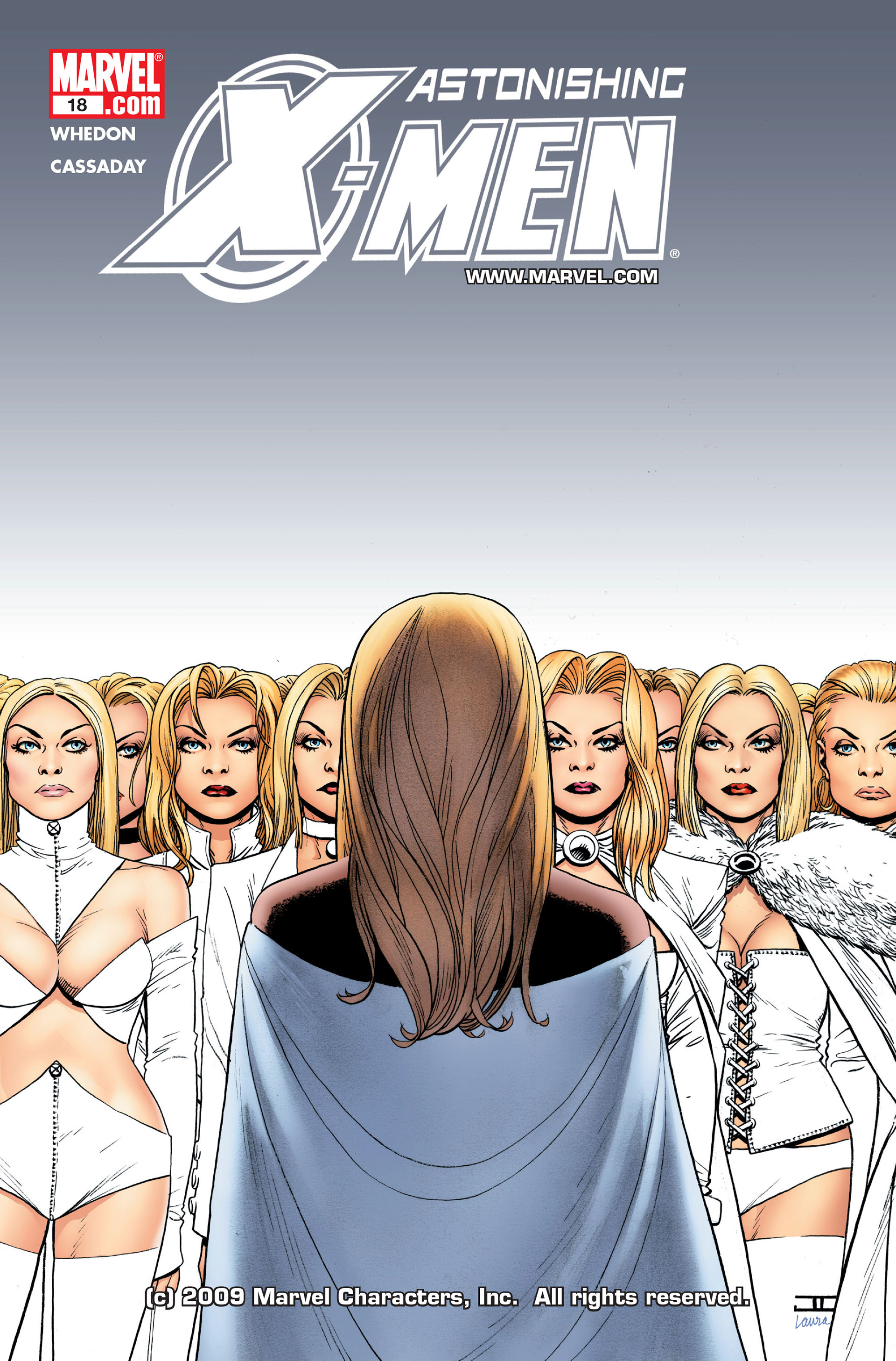 Read online Astonishing X-Men (2004) comic -  Issue #18 - 1