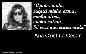 TRIBUNA DA INTERNET   Nada disfarçava o amor de Ana Cristina Cesar
