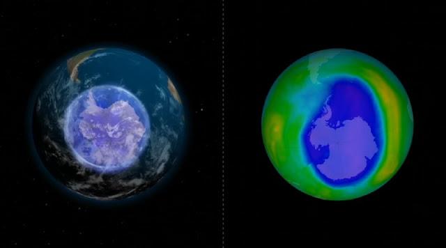 Keadaan lubang ozon hari ini