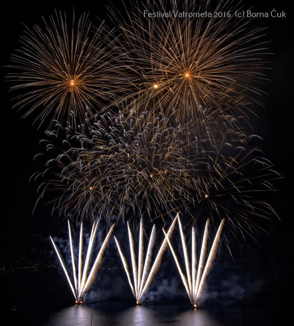 Festival vatrometa / Fireworks festival 2016 @ Opatija kupalište Slatina 25.06.2016
