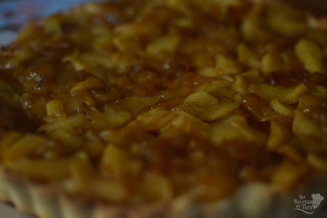 Maravilloso pastel de manzana con crema pastelera tererecetas 03