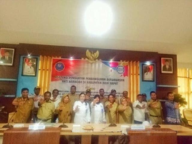 BNN Papua Barat Asistensi Penguatan Wawasan Anti Narkoba di Raja Ampat