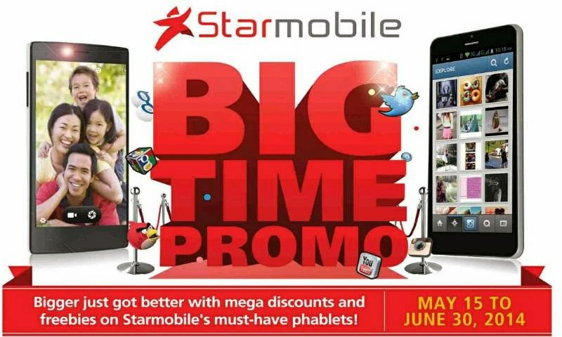 Big Time Promo, Get Discounts and Freebies When You Buy Starmobile Phablets