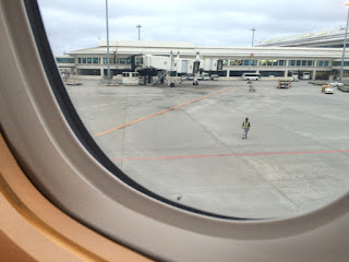 8レグ JAL918 沖縄 - 東京・羽田 普通席 | 搭乗記録 | マイル修行:JAL・JGCの旅2016