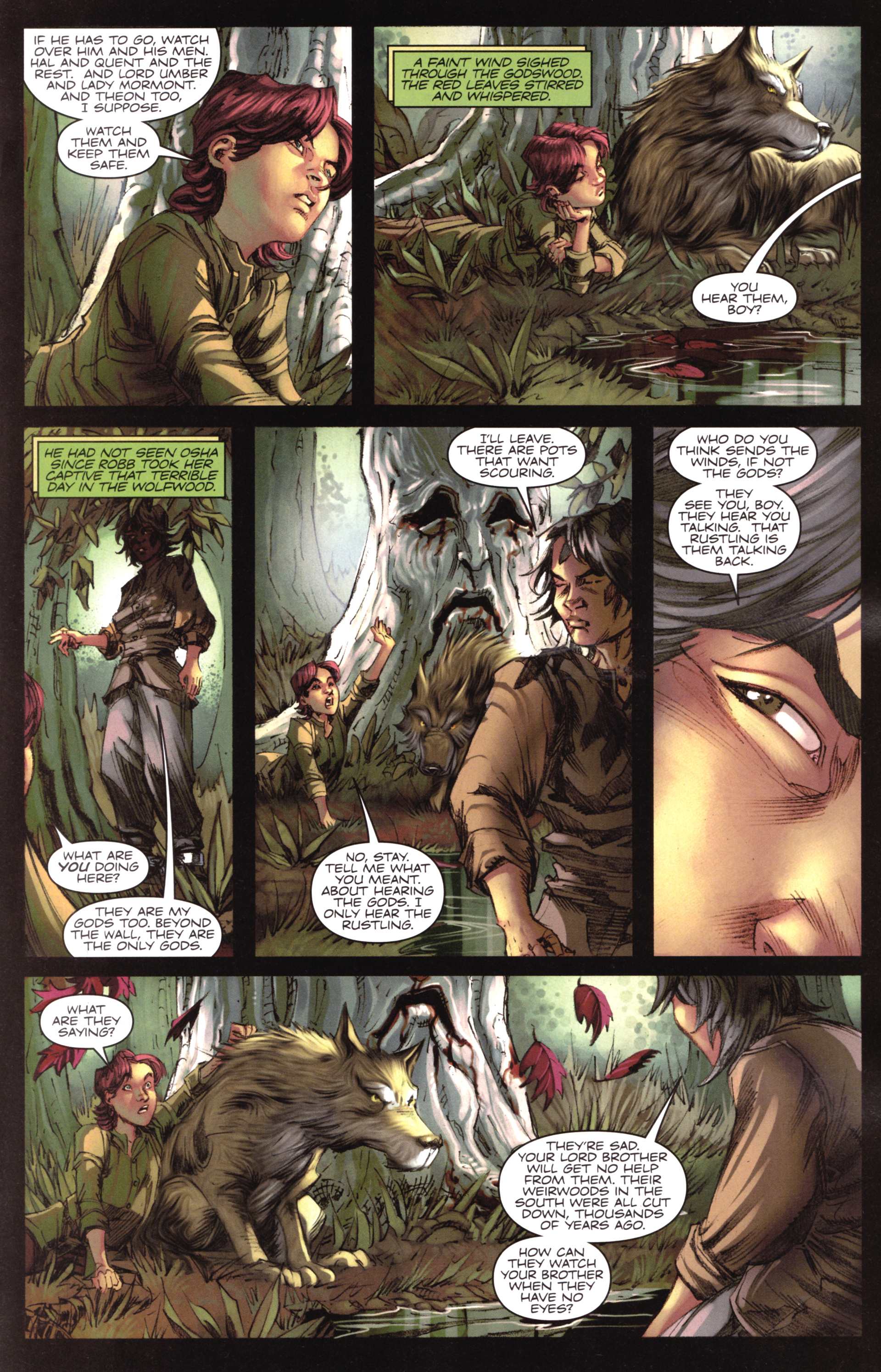 Read online A Game Of Thrones comic -  Issue #17 - 19