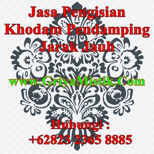 Jasa Pengisian Khodam Pendamping Jarak Jauh