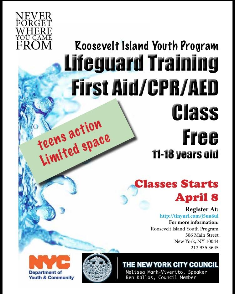 Roosevelt Islander Online Free Lifeguard Training First Aid Cpr