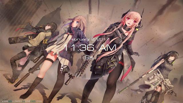Anti-Rain Squad 1080P Wallpaper Engine