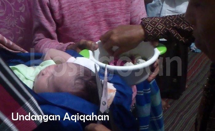 contoh undangan aqiqah syukuran bayi