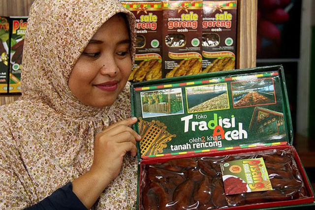 Toko oleh-oleh khas Aceh