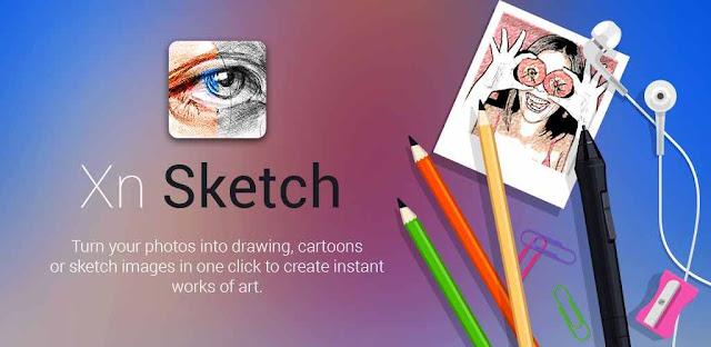تحميل تطبيق  Sketch Me! Pro لتحويل صورك الى رسم  بنقره وحده